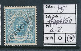 LUXEMBOURG PRIFIX 18 HAARLEM LH - Dienstpost