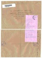 Affranchissent De Guichet _ Lettre Recommandée De Dar El Salam Pour Jersey - Tanzanie (1964-...)