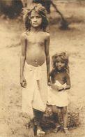 Chanoinesses Missionnaires De Saint-Augustin (Inde) - Deux Jeunes Enfants Indigènes - Carte Nels - Missionen