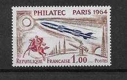 France Timbre De 1964  N°1422b PHILATEC  Neuf ** COTE 18€ - France