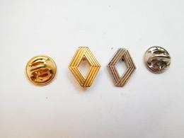 Beaux Pin's , 2 Logos Auto Renault - Renault