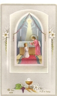 Devotie - Devotion - Communie Communion - Liliane Maeckelbergh - Zande 1955 - Communion