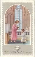 Devotie - Devotion - Communie Communion - Wilfried Vergauwe - Moerkerke 1954 - Communion