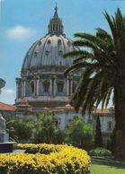Cp , ITALIE , ROMA , CUPOLA Di S. Pietro Dai Giardini Vaticani - Ponts