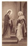 Devotie - Devotion - Communie Communion - DEnise Aernoudt - St Pierre - St Paul De Montreuil S Bois - Communion