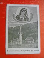 Kropa.Spomin Dvestoletnice Marijine Bozje Poti V Kropi - Images Religieuses