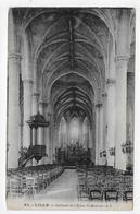LILLE - N° 62 - INTERIEUR DE L' EGLISE SAINT MAURICE - CPA NON VOYAGEE - Lille