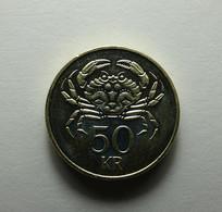 Iceland 50 Kronur 2005 - Islandia
