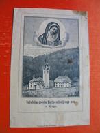 Kropa.Cudodelna Podoba Marije Milostljivega Srca V Kropi - Images Religieuses