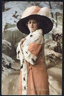 FEMME - CP - Jeune Femme Avec Chapeau - Circulé - Circulated - Gelaufen - 1913. - Femmes