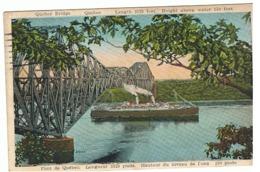 QUEBEC - Pont De Québec, Paquebot, Bateau,.. 1929 (Fr75) - Quebec