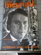 Affiche -  Gérard Meyniel Saxophone Pour Une Eglise - Posters