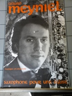 Affiche -  Gérard Meyniel Saxophone Pour Une Eglise - Manifesti & Poster