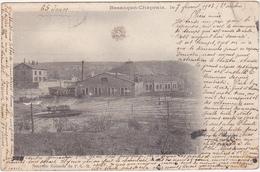 25 - Besançon-Chaprais - Nouvelle Rotonde Du P.-L.-M. - 1903 / Carte Précurseur - Besancon