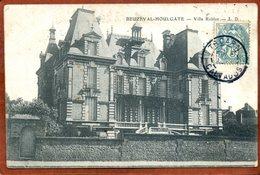 14  CPA  De BEUZEVAL-HOULGATE    Villa Roblot   Joli Plan    Bon état (traces D'usage) - Houlgate