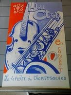 Affiche - Bleu   Citron Groupe De Jazz En Concert à Montesquiou - Affiches & Posters