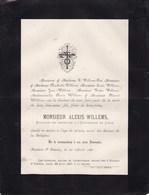 HOUTAIN ST SIMEON Alexis WILLEMS étudiant En Médecine Université De Liège 22 Ans 1887 - Décès