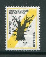 SENEGAL- Service Y&T N°9- Neuf Avec Charnière * - Senegal (1960-...)