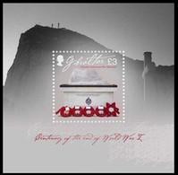 Gibraltar 2018 Micheln°  Bloc 135 *** MNH  War Memorial Fin Prémière Guerre Du Monde - Gibraltar