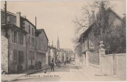 CARTE POSTALE   EURVILLE 52  Grande Rue - Francia