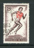 NIGER- Y&T N°121- Oblitéré (athlétisme) - Niger (1960-...)