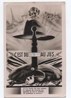 La Quille    Carte Illustraton Aulagnier - Humor