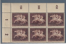 DEUTSCHLAND GERMANY GERMANIA REICH MNH** 1941Mi.780 DAS BRAUNE BAND OTTAVO NASTRO BRUNO   SECHSBLOCK - Allemagne