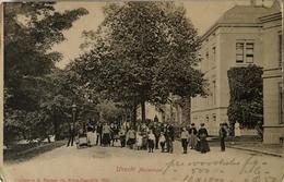Utrecht // Maliesingel (met Veel Volk) Ca 1900 - Utrecht