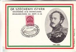 Hongrie - Carte Postale De 1941 - Oblit Spéciale Budapest - Ponts - - Hongrie