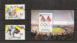MACEDONIA 2016,OLYMPIC GAMES,RIO,BLOCK,MNH - Macédoine