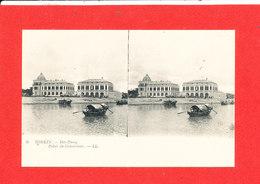 LE TONKIN HAI PHONG Cpa Stéréoscopique Palais Du Gouverneur         6 LL - Viêt-Nam