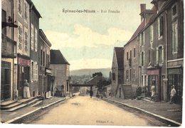 Carte Postale Ancienne De EPINAC Les MINES - Francia