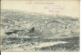 FEZ-Cimetière Arabe De Bab-Guissba-campagne Du Maroc-1913-1914 - Fez (Fès)
