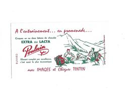Buvard Chocolat Poulain à L'entrainement ... En Promrenade - Cocoa & Chocolat