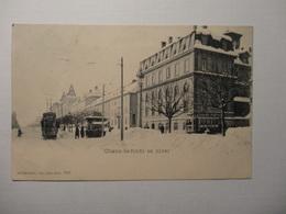 Chaux - De - Fonds En Hiver 1902 (5024) - NE Neuchatel