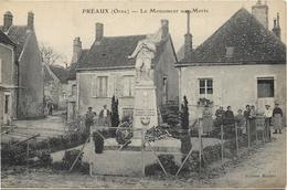 PREAUX Le Monument Aux Morts - France