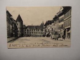 Yverdon - La Plaine Et Le Château - Passage De I'Automobil 1906 (5025) - VD Vaud
