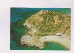 CHIA, VEDUTA AEREA DELLA OMONIMA TORRE En 1990! (voir Timbre) - Cagliari