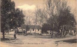 Carte Postale Ancienne De GENOUILLY - Francia