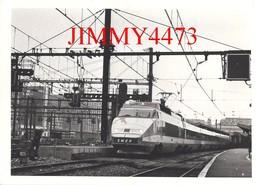 CPM - Le TGV Paris Gare De Lyon - Edit. Panthéon Des Collectionneurs 38 Saint Marcellin - Stations With Trains