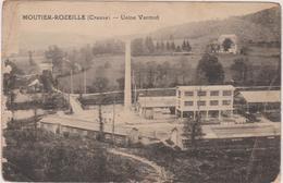 23 Moutier-rozeille Usine   Vermot - Autres Communes