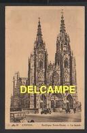 DF / 51 MARNE / L' EPINE / FAÇADE DE LA BASILIQUE NOTRE-DAME / 1945 - L'Epine