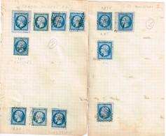 Lot Classiques à Identifier - 1853-1860 Napoleon III