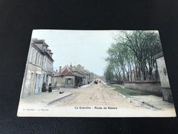 LA GUERCHE Route De Nevers - 1906 Timbrée - Autres Communes