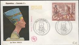 FDC 459 - FRANCE N° 1899 Ramsès Sur FDC 1976 - FDC