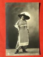 1911 - LA JUPE CULOTTE - DE BROEKROK - DAME MET GROTE HOED - GRAND CHAPEAU - Mode