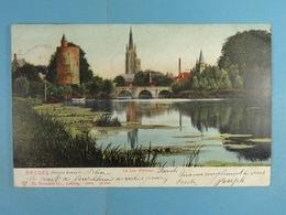 Bruges Le Lac D'Amour (colorisée) - Brugge