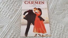 Film Carmen Di Bizet Francesco Rosi - Manifesti Su Carta