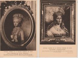 19 / 4 / 240 - 2 Cp ( Grand Modèle ) MARIE ADÉALAÏDE DE FRANCE  &  DUCHESSE  D'ANGOULÈME - Familles Royales