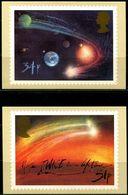 FP0882 UK 1986 Halley Comet Return Blank Postcard 4V  MNH - Autres - Europe